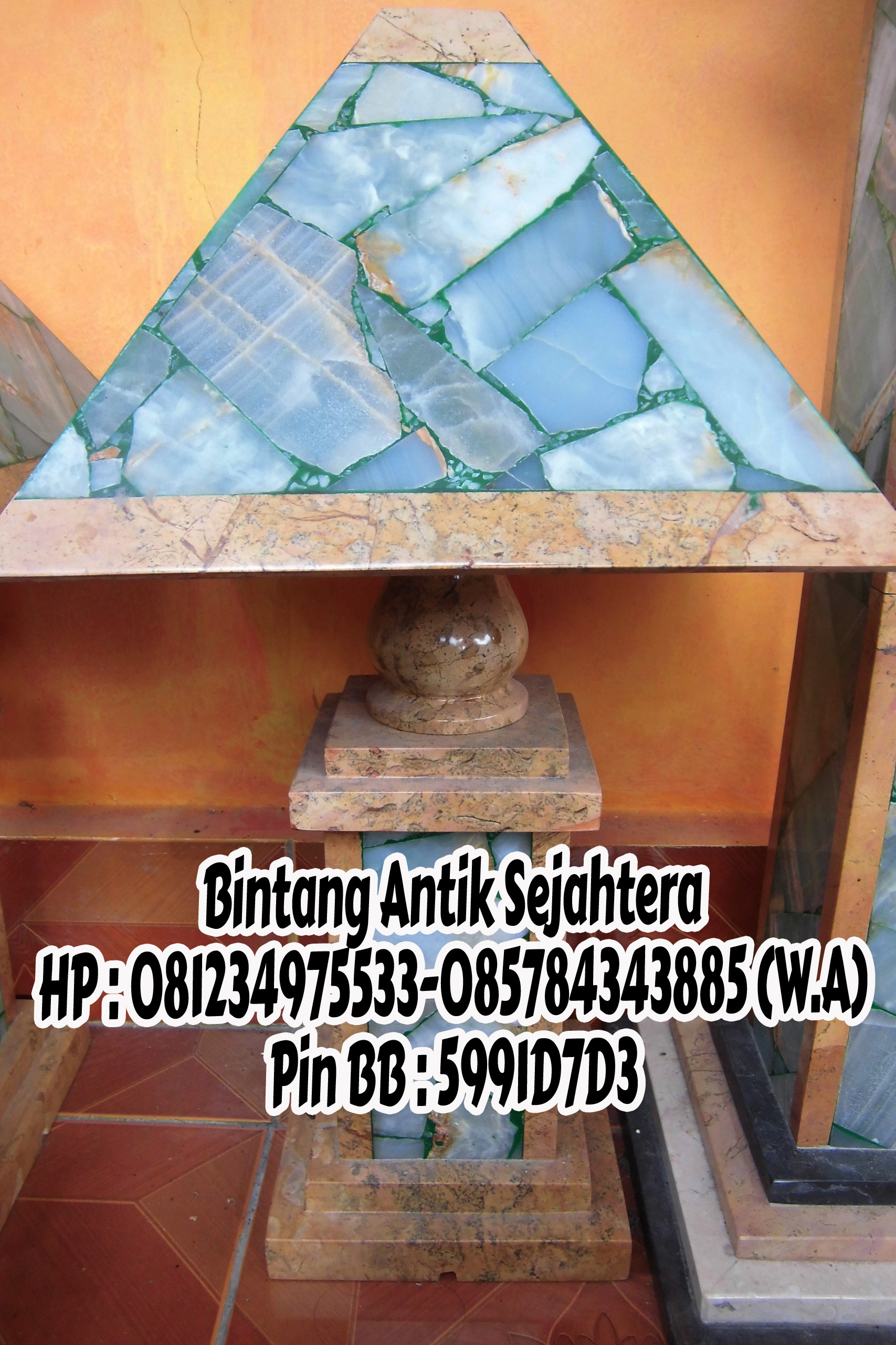 Kap Lampu Onix Mix Marmer , Jual Kap Lampu Marmer