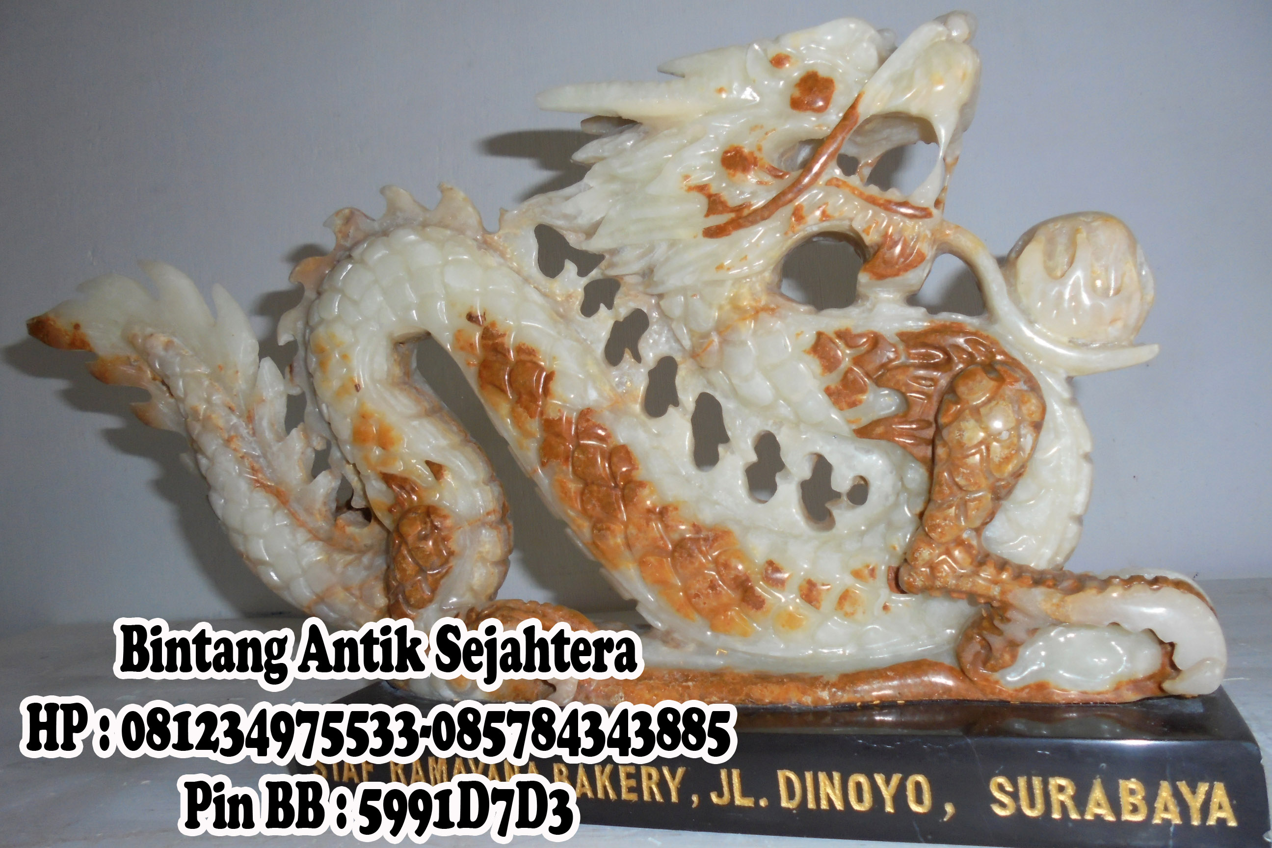 Menjual Patung Onix, Patung  Naga