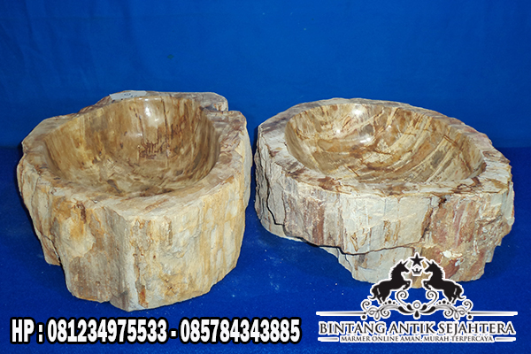 Wastafel Batu Fosil