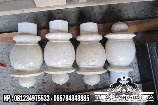 Nisan Marmer | Batu Nisan Marmer Putih