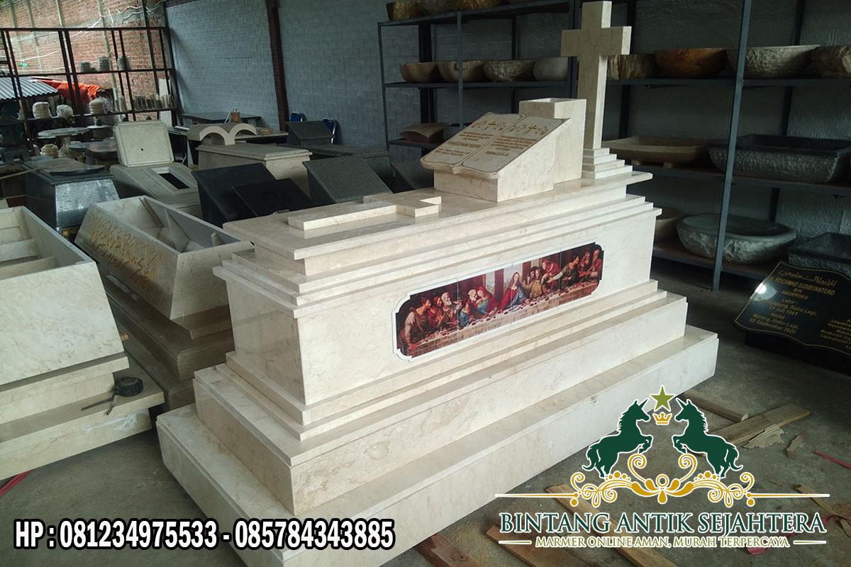 Kuburan Kristen Modern   Model Makam Marmer